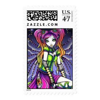 """Myra""  Rainbow Lilly Fairy Postage"