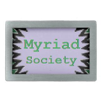 Myriad Society Belt Buckle