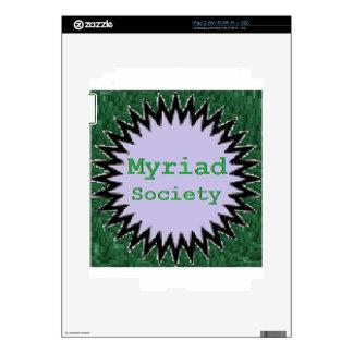 Myriad Society Decal For iPad 2