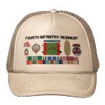 Myribbons, 2BN4o regimiento de infantería NCO, new Gorras