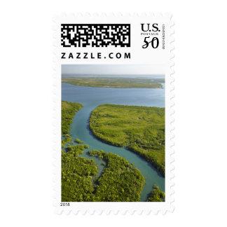Myrmidon Creek, mangroves, and Elizabeth River Postage