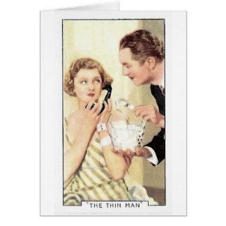 Myrna Loy Thin Man Stationery Note Card