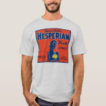 Myron Foster's Hesperian Fruits Apple Crate Labels T-Shirt