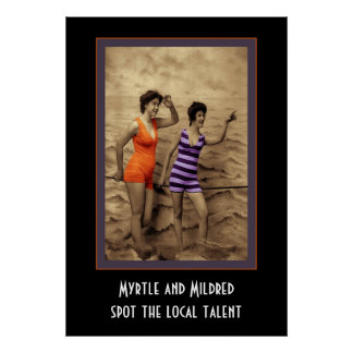 Myrtle and Mildred Print