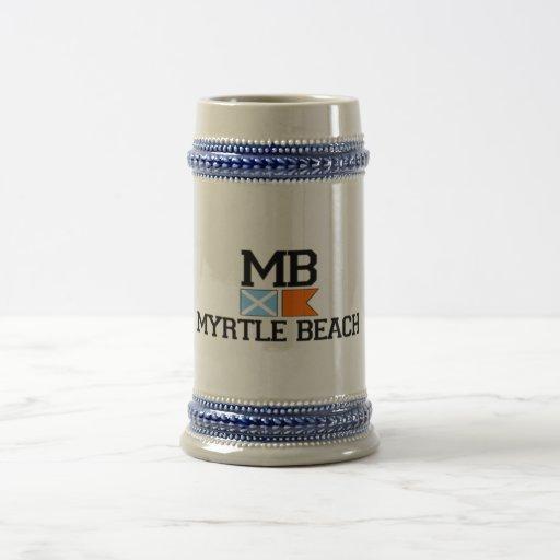 Myrtle Beach. 18 Oz Beer Stein