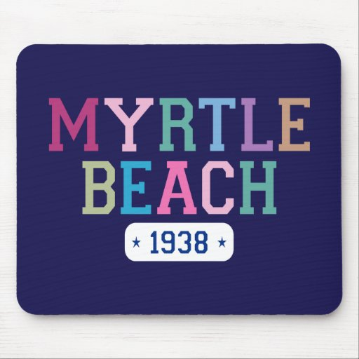 Myrtle Beach 1938 Mouse Pads