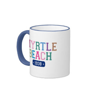 Myrtle Beach 1938 Coffee Mugs
