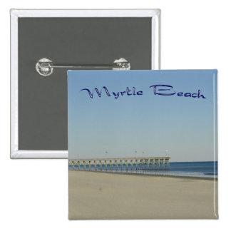 Myrtle Beach 2 Inch Square Button