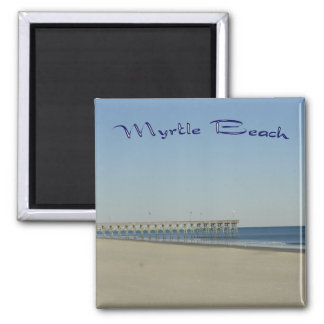 Myrtle Beach 2 Inch Square Magnet