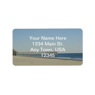 Myrtle Beach Address Label