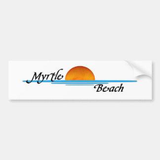 Myrtle Beach Etiqueta De Parachoque