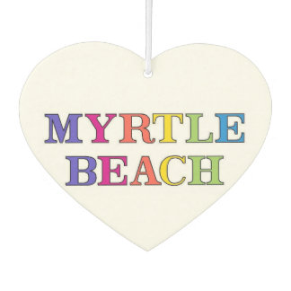 Myrtle Beach Colors Air Freshener