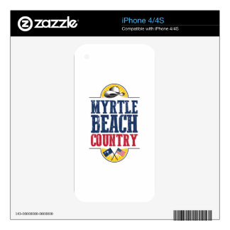 Myrtle Beach Country Skin For The iPhone 4S