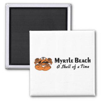 Myrtle Beach Crab Refrigerator Magnets