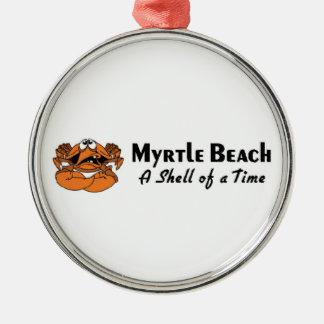 Myrtle Beach Crab Christmas Tree Ornaments