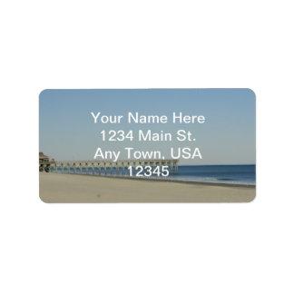 Myrtle Beach Etiquetas De Dirección