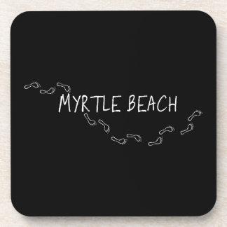 Myrtle Beach Footprints Coaster