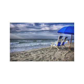 Myrtle Beach Lona Envuelta Para Galerias
