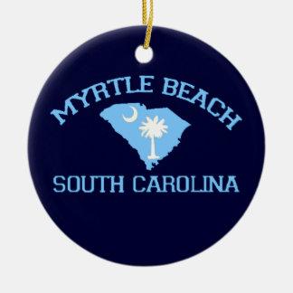 Myrtle Beach Christmas Tree Ornament