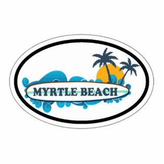 Myrtle Beach Oval Design. Cutout