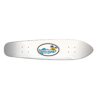 Myrtle Beach Oval Design. Skateboard Deck