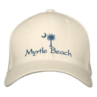 Myrtle Beach Palmetto Embroidered Hat