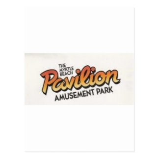 Myrtle Beach Pavillion Amusement Park Postcard