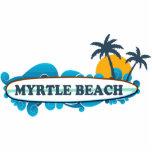 Myrtle Beach. Photo Cut Out