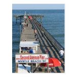 pier, myrtle, beach, fishing, vacation, fun