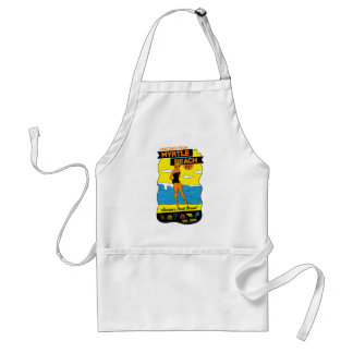 Myrtle Beach Postcard Adult Apron