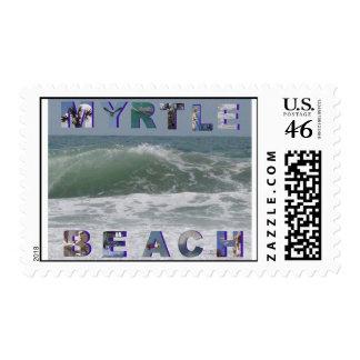Myrtle beach postcards postage stamps