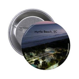 Myrtle Beach, SC 2 Inch Round Button