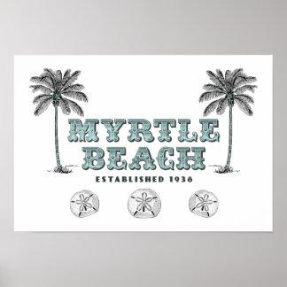 Myrtle Beach SC Est 1938 Poster