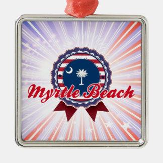 Myrtle Beach SC Christmas Ornaments