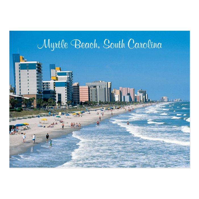 Vacation Myrtle Beach Card