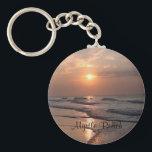 "Myrtle Beach SC Sunrise Over Ocean Key Chain<br><div class=""desc"">Myrtle Beach South Carolina Sunrise Over Ocean Key Chain</div>"