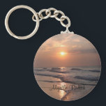 "Myrtle Beach SC Sunrise Over Ocean Key Chain<br><div class=""desc"">Myrtle Beach South Carolina Sunrise Over Ocean Key Chain</div>"
