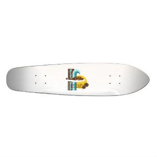 Myrtle Beach. Custom Skate Board