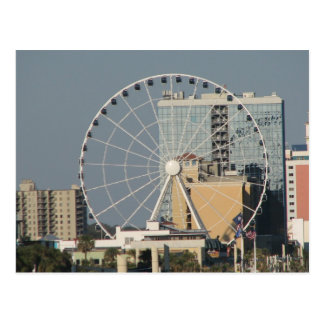 Myrtle Beach Sky Wheel Postcard