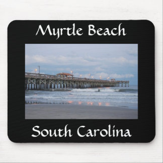 Myrtle Beach South Carolina at Sunset Mousepad