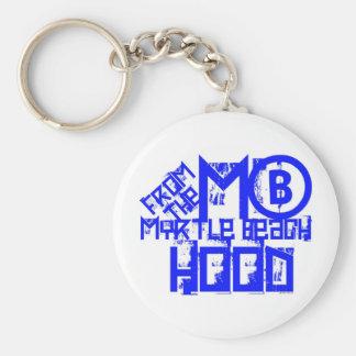 Myrtle Beach South Carolina Basic Round Button Keychain