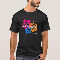 Myrtle Beach South Carolina Hibiscus T Shirt