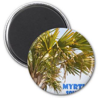 Myrtle Beach South Carolina Palm Tree Vacation Magnet