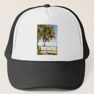 Myrtle Beach South Carolina Palm Tree Vacation ` Trucker Hat