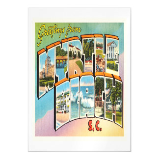 Myrtle Beach South Carolina SC Vintage Postcard- Magnetic Card