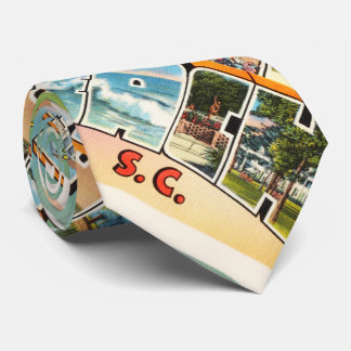 Myrtle Beach South Carolina SC Vintage Postcard- Neck Tie