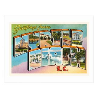 Myrtle Beach South Carolina SC Vintage Postcard- Postcard