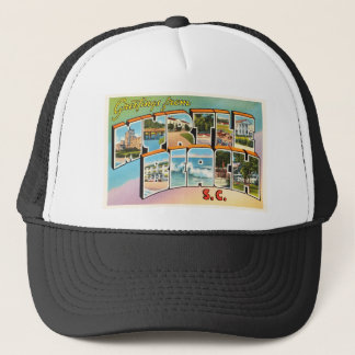 Myrtle Beach South Carolina SC Vintage Postcard- Trucker Hat