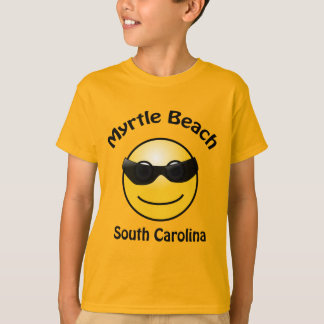Myrtle Beach, South Carolina  Smilie T-shirt