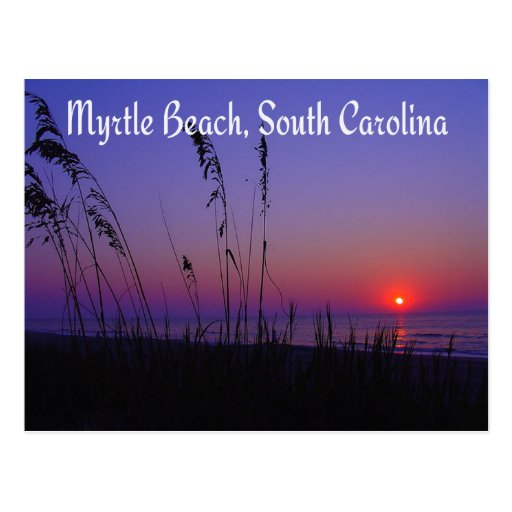 Myrtle Beach South Carolina Sunrise Postcard